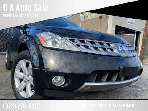 2007 Nissan Murano for sale at O A Auto Sale in Paterson NJ
