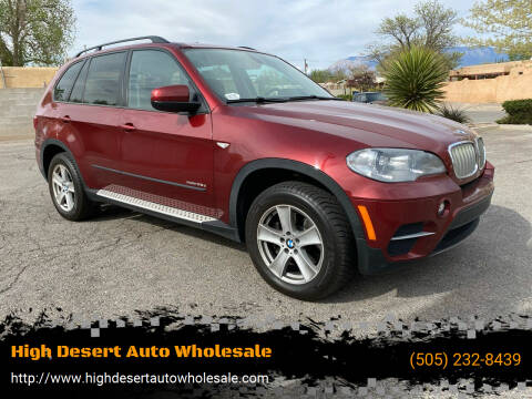 2012 BMW X5 for sale at High Desert Auto Wholesale in Albuquerque NM