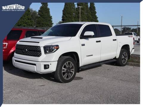 2019 Toyota Tundra for sale at BARTOW FORD CO. in Bartow FL