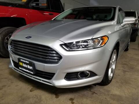 2016 Ford Fusion for sale at 916 Auto Mart ONLY $399 DOWN!!!* in Sacramento CA