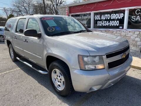 2007 Chevrolet Suburban for sale at GOL Auto Group in Austin TX