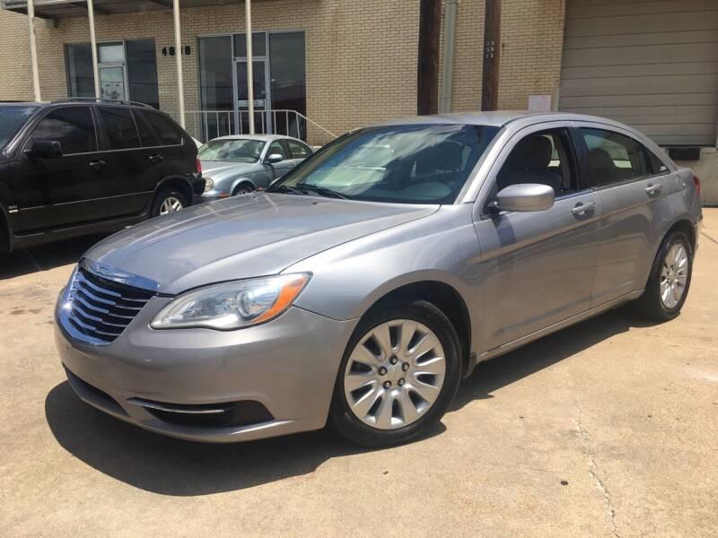 2014 Chrysler 200 for sale at TETCO AUTO SALES  / TETCO FUNDING in Dallas TX