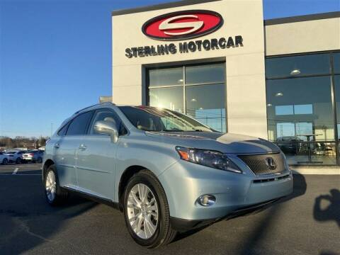 2012 Lexus RX 450h for sale at Sterling Motorcar in Ephrata PA