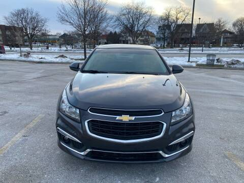 2015 Chevrolet Cruze for sale at Sphinx Auto Sales LLC in Milwaukee WI
