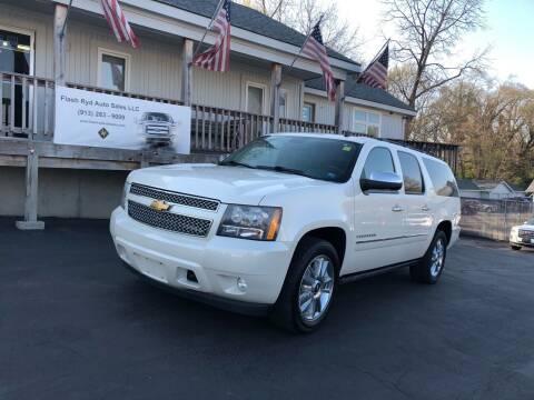 2010 Chevrolet Suburban for sale at Flash Ryd Auto Sales in Kansas City KS