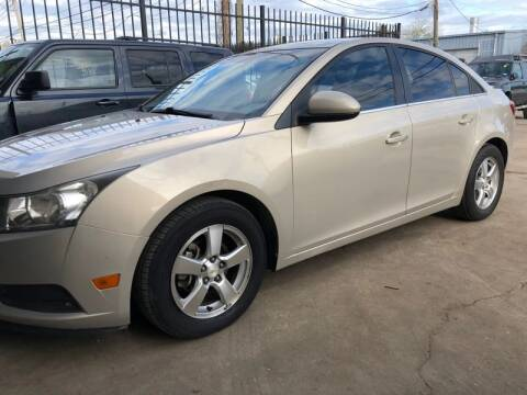 2011 Chevrolet Cruze for sale at ALL STAR MOTORS INC in Houston TX