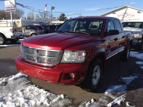 2008 Dodge Dakota for sale at Steves Auto Sales in Cambridge MN