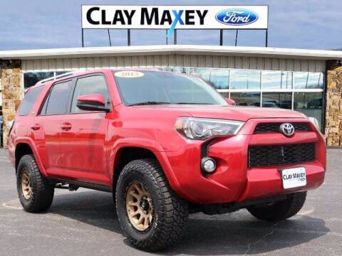 2015 Toyota 4Runner for sale at Clay Maxey Ford of Harrison in Harrison AR