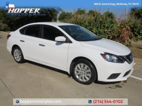 2018 Nissan Sentra for sale at HOPPER MOTORPLEX in Mckinney TX