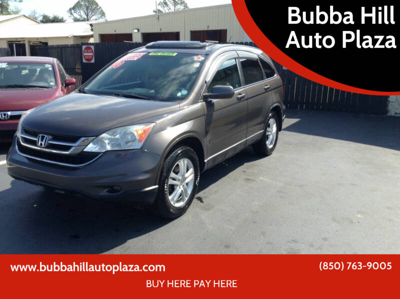2010 Honda CR-V for sale at Bubba Hill Auto Plaza in Panama City FL