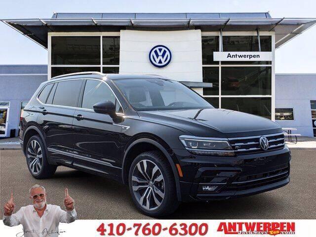 2021 Volkswagen Tiguan for sale in Pasadena, MD