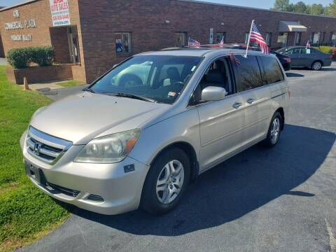 2007 Honda Odyssey for sale at ARA Auto Sales in Winston-Salem NC