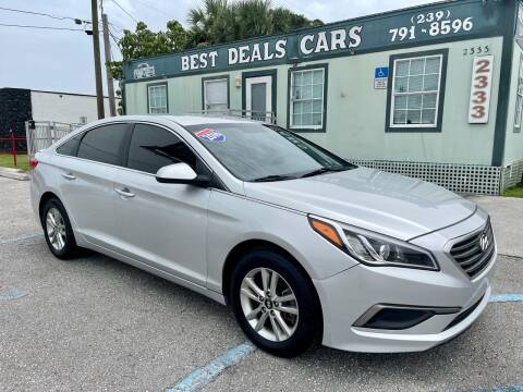2016 Hyundai Sonata for sale at Best Deals Cars Inc in Fort Myers FL