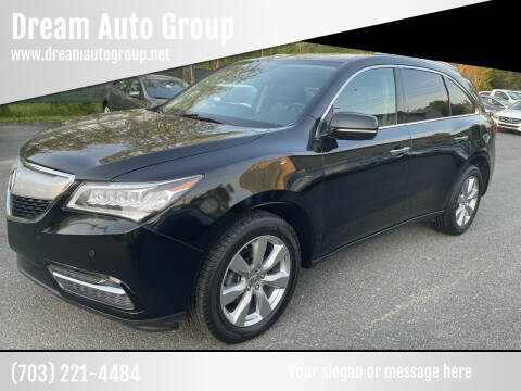2014 Acura MDX for sale at Dream Auto Group in Dumfries VA
