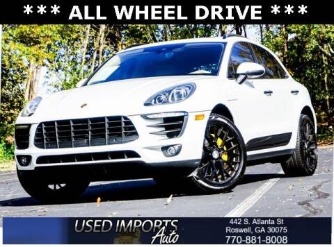 2015 Porsche Macan for sale at Used Imports Auto in Roswell GA
