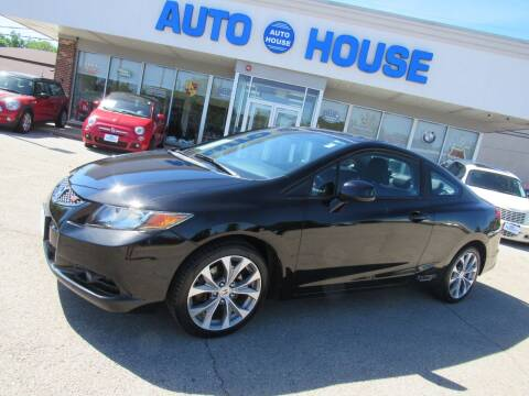 2012 Honda Civic for sale at Auto House Motors in Downers Grove IL