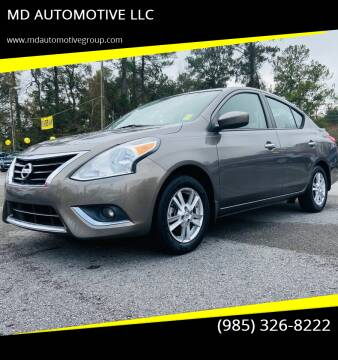 2015 Nissan Versa for sale at MD AUTOMOTIVE LLC in Slidell LA