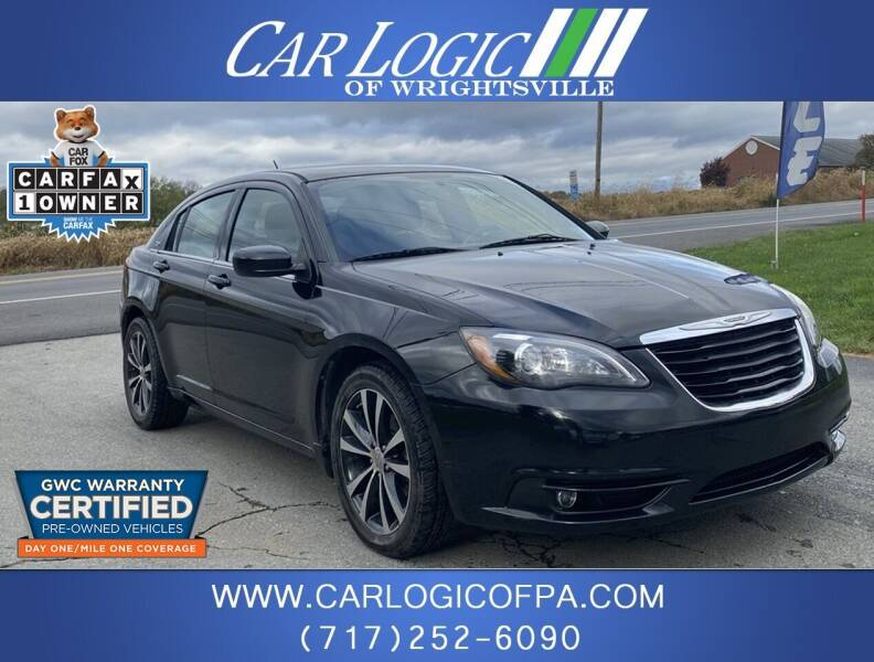 2013 Chrysler 200 for sale at Car Logic in Wrightsville PA