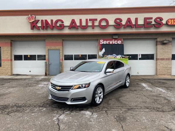 2015 Chevrolet Impala for sale at KING AUTO SALES  II in Detroit MI