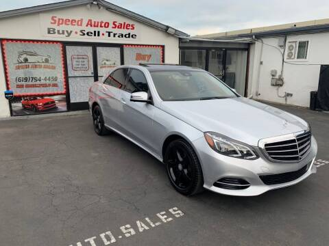 2014 Mercedes-Benz E-Class for sale at Speed Auto Sales in El Cajon CA