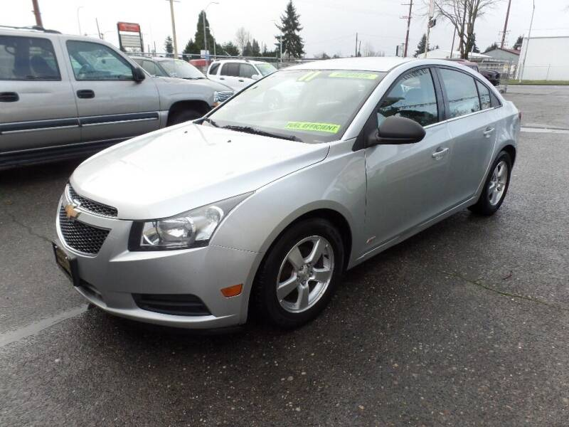 2011 Chevrolet Cruze for sale at Gold Key Motors in Centralia WA