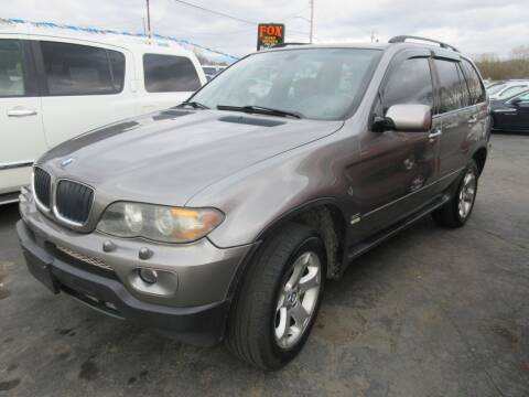 2004 BMW X5 for sale at Fox River Motors, Inc in Green Bay WI
