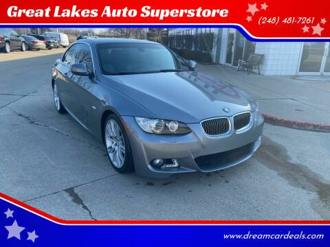 2010 BMW 3 Series for sale at Great Lakes Auto Superstore in Pontiac MI