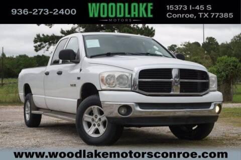 2008 Dodge Ram Pickup 1500 for sale at WOODLAKE MOTORS in Conroe TX