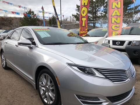 2015 Lincoln MKZ Hybrid for sale at Duke City Auto LLC in Gallup NM