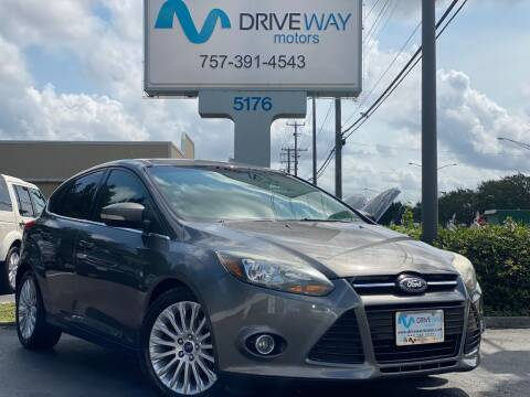 2012 Ford Focus for sale at Driveway Motors in Virginia Beach VA