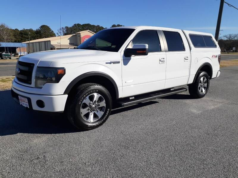 2014 Ford F-150 for sale at USA 1 Autos in Smithfield VA