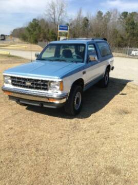1984 Chevrolet Blazer for sale at Classic Car Deals in Cadillac MI