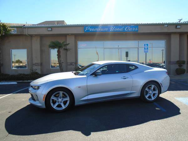 2016 Chevrolet Camaro for sale at Family Auto Sales in Victorville CA