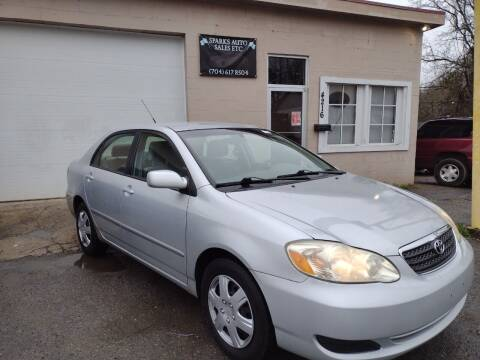 2007 Toyota Corolla for sale at Sparks Auto Sales Etc in Alexis NC