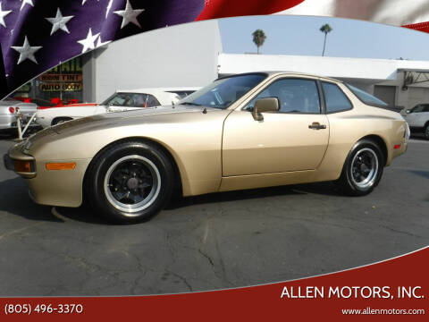 1984 Porsche 944 for sale at Allen Motors, Inc. in Thousand Oaks CA