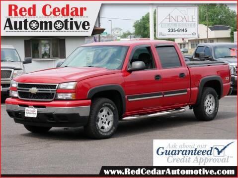 2006 Chevrolet Silverado 1500 for sale at Red Cedar Automotive in Menomonie WI