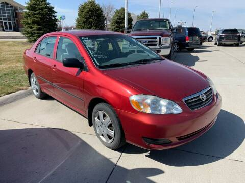 2006 Toyota Corolla for sale at Sportline Auto Center in Columbus NE