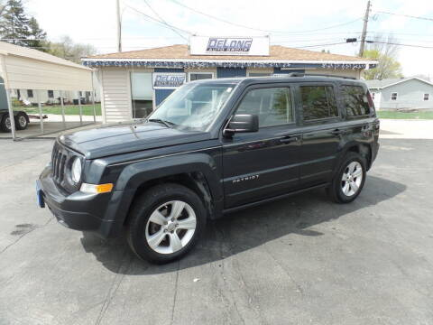2015 Jeep Patriot for sale at DeLong Auto Group in Tipton IN