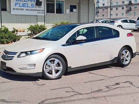 2011 Chevrolet Volt for sale at Clean Fuels Utah in Orem UT