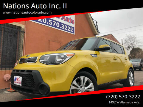 2014 Kia Soul for sale at Nations Auto Inc. II in Denver CO