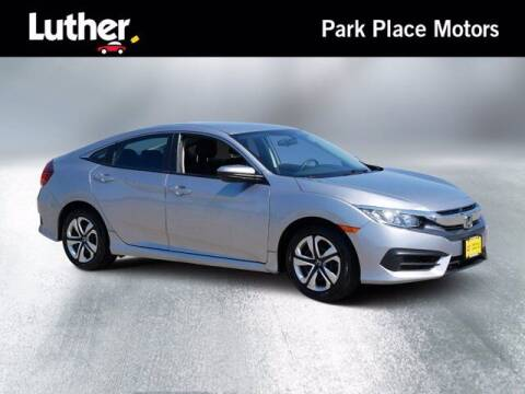 2016 Honda Civic for sale at Park Place Motor Cars in Rochester MN