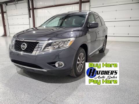 2013 Nissan Pathfinder for sale at Hatcher's Auto Sales, LLC - Buy Here Pay Here in Campbellsville KY