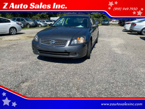 2005 Nissan Altima for sale at Z Auto Sales Inc. in Rocky Mount NC