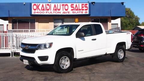 2016 Chevrolet Colorado for sale at Okaidi Auto Sales in Sacramento CA