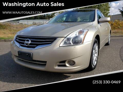 2010 Nissan Altima for sale at Washington Auto Sales in Tacoma WA