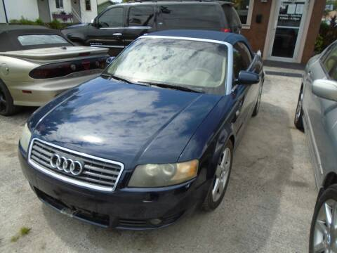 2004 Audi A4 for sale at Bargain Auto Mart Inc. in Kenneth City FL