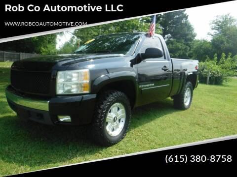 2007 Chevrolet Silverado 1500 for sale at Rob Co Automotive LLC in Springfield TN