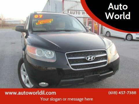2007 Hyundai Santa Fe for sale at Auto World in Carbondale IL