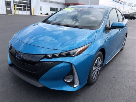 2021 Toyota Prius Prime for sale at White's Honda Toyota of Lima in Lima OH