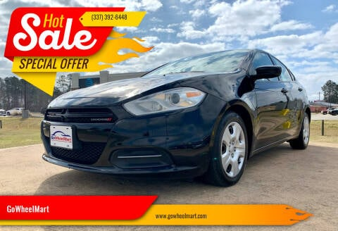 2016 Dodge Dart for sale at GoWheelMart in Leesville LA